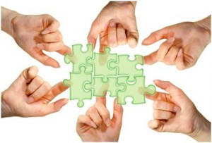 Teamwork Puzzle © Calado #39563802 fotolia.com